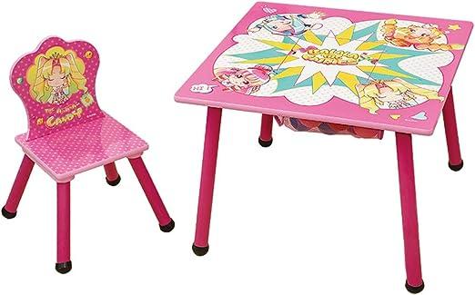 Juegos de mesas y sillas Mesa para Niños Mesa De Jardín Y Juego De ...