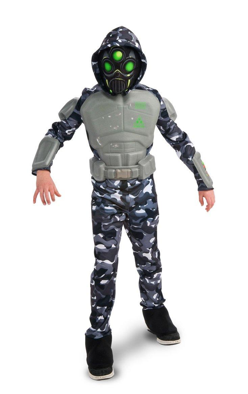amazon com rubie u0027s deluxe swat ninja costume medium 8 10