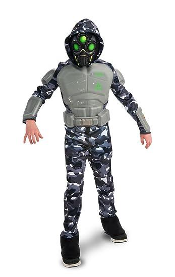 Amazon.com: Rubies, disfraz deluxe SWAT Ninja., L, Como se ...