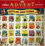 Best Value Christmas Advent Calendar for Kids with Santa's Jokes Xmas Perfect Holiday Gift Imported {jg} For mom, dad, sister, brother, grandma, friend, gay