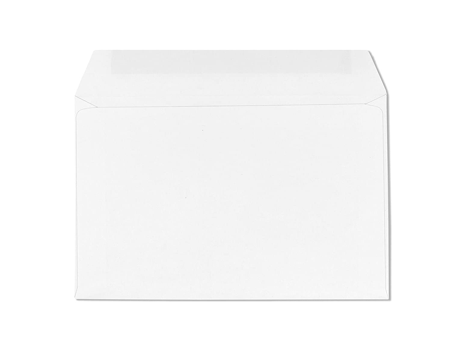 6 x 9 Envelopes Booklet-Open Side Envelopes-50 Pack (White) Check O Matic COM302