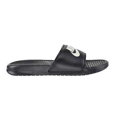 Nike , Herren Sandalen Schwarz schwarzweiß