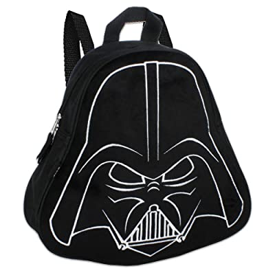 "Star Wars Darth Vader (11"") Mini Toddler Preschool Backpack (Plush Front): Toys & Games"