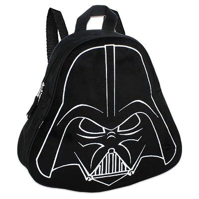 "Star Wars Darth Vader (11"") Mini Toddler Preschool Backpack (Plush Front): Toys & Games"