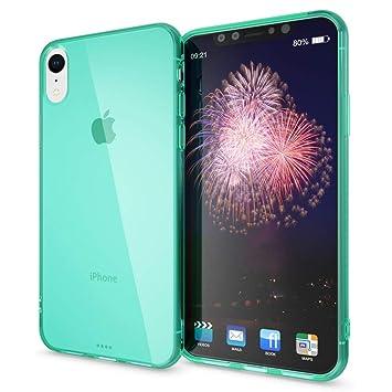 87f0cfe79ff NALIA Funda Compatible con iPhone XR, Ultra-Fina Protectora Movil Carcasa  Transparente Silicona Gel Bumper Estuche, Goma Cubierta Delgado Clear  Smart-Phone ...