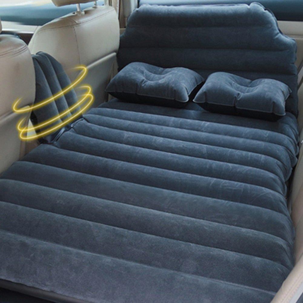 車の旅インフレータブルマットレスエアベッドセクシーエアベッドキャンプ屋外モバイル多機能クッションSUVオートトラックセダンユニバーサル ( 色 : ブラック ) B07CLZ79S6  ブラック