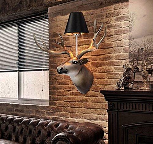 WYMBS Der modernen europäischen Stil Wandleuchten Stoffen Gang restaurant Schlafzimmer Wohnzimmer