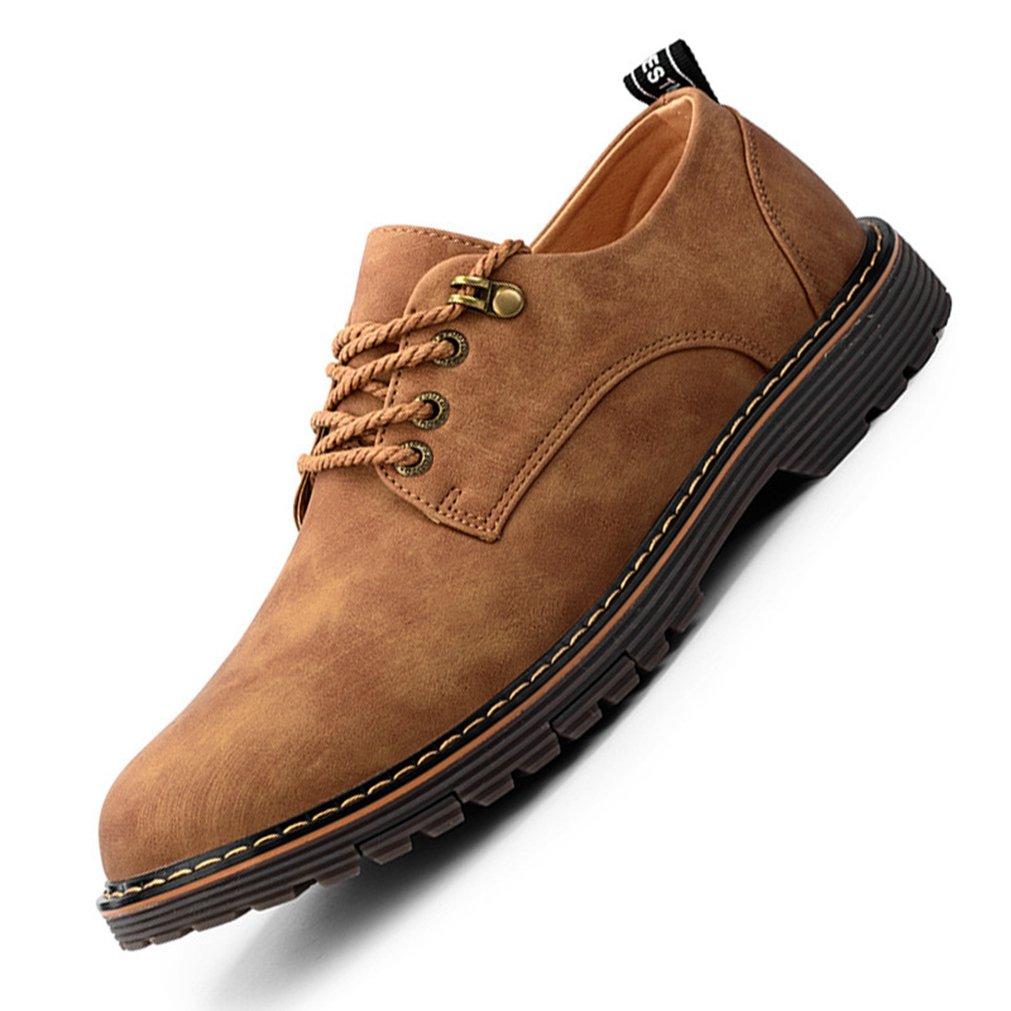 Feidaeu - Brogue Hombre 44 EU marrón Zapatos de moda en línea Obtenga el mejor descuento de venta caliente-Descuento más grande