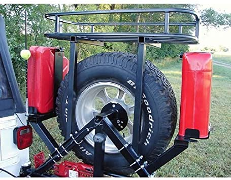 Rock Hard 4x4 Passenger Side Right Tank Mount for RH4x4 Tire Carriers for Jeep