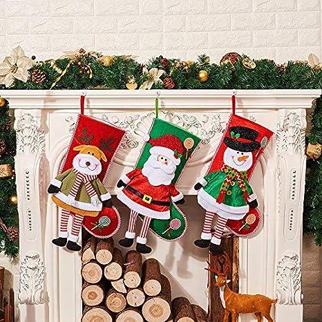 Befana E Babbo Natale.Jamila 2019 Di Natale Calza Della Befana Babbo Natale