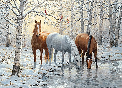 Cobble Hill Winter Trio Jigsaw Puzzle (1000 ()