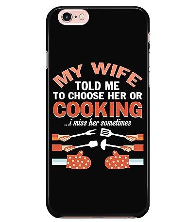 Amazon.com: Carcasa para iPhone 6/6S, Im A Chef para Apple ...