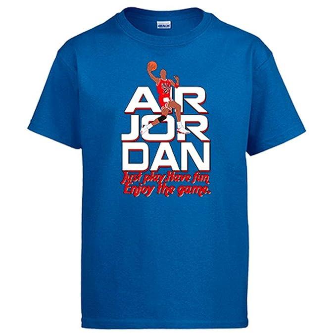 Camiseta Air Jordan Disfruta del Baloncesto: Amazon.es: Ropa y accesorios
