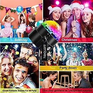 61rTO7spZOL. SS300  - KOOT-Discokugel-Disco-Licht-Party-Licht-LED-Bhne-Lichter-DJ-licht-Ton-Aktiviert-und-Fernbedienung-Beste-fr-Kinder-Geburtstag-Parteien-Karaoke2019-Aktualisierung  KOOT-Discokugel-Disco-Licht-Party-Licht-LED-Bhne-Lichter-DJ-licht-Ton-Aktiviert-und-Fernbedienung-Beste-fr-Kinder-Geburtstag-Parteien-Karaoke2019-Aktualisierung 61rTO7spZOL
