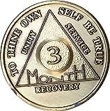3 Month Bronze AA %28Alcoholics Anonymou