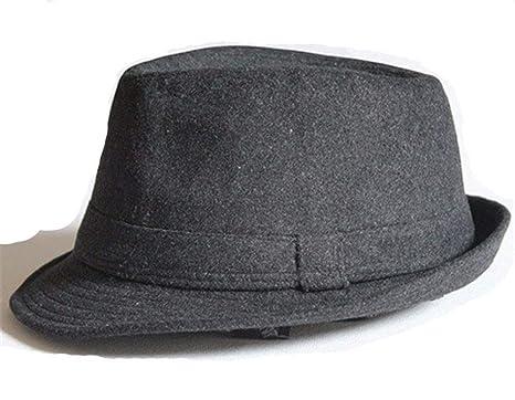 MZ Otoño e Invierno cálidos Sombreros de Lana Gruesa Hombres y ...