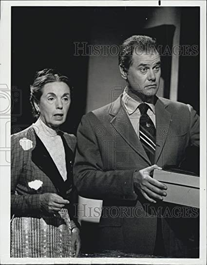 Amazoncom 1975 Press Photo Helen Kleeb Larry Hagman The Detective