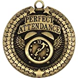 Perfect Attendance Superstar Medal (Set of 50)