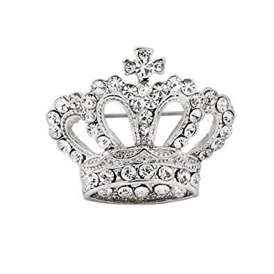 Image Unavailable. Image not available for. Color  Boho Victoria King Queen  Crown Brooch Pin ... 48257f20a85e