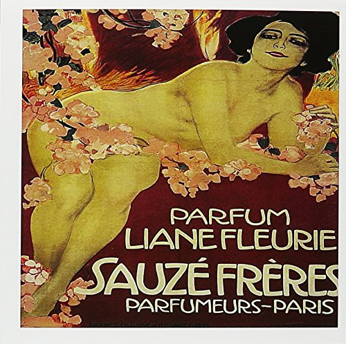 Fleurie Paris France French Perfume Poster Reproduction, Greeting Cards, Set of 6 (gc_169735_1) ()