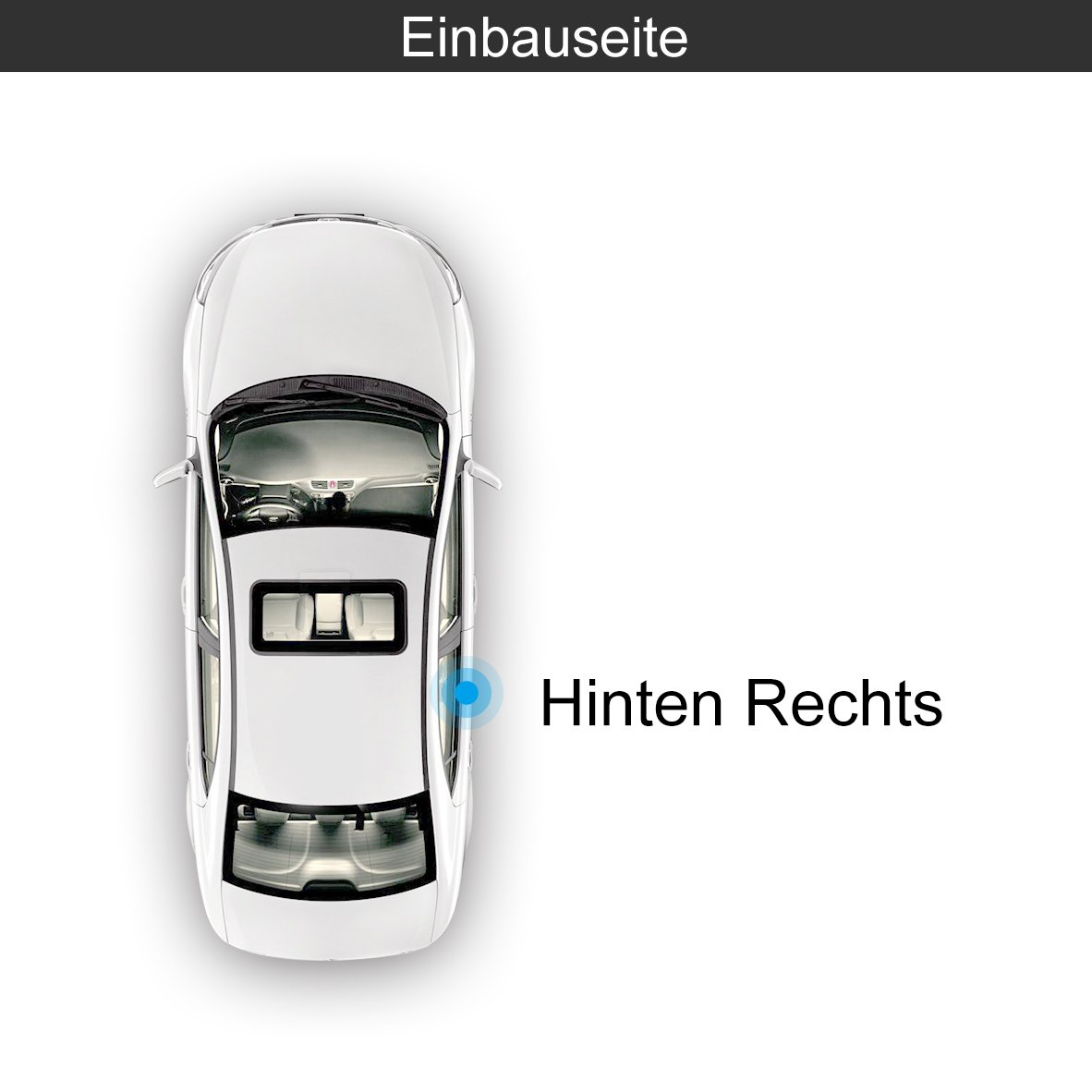 Fensterheber Ohne Motor Hinten Rechts f/ür Mondeo IV BA7 2007-2015 7S71A27000BG