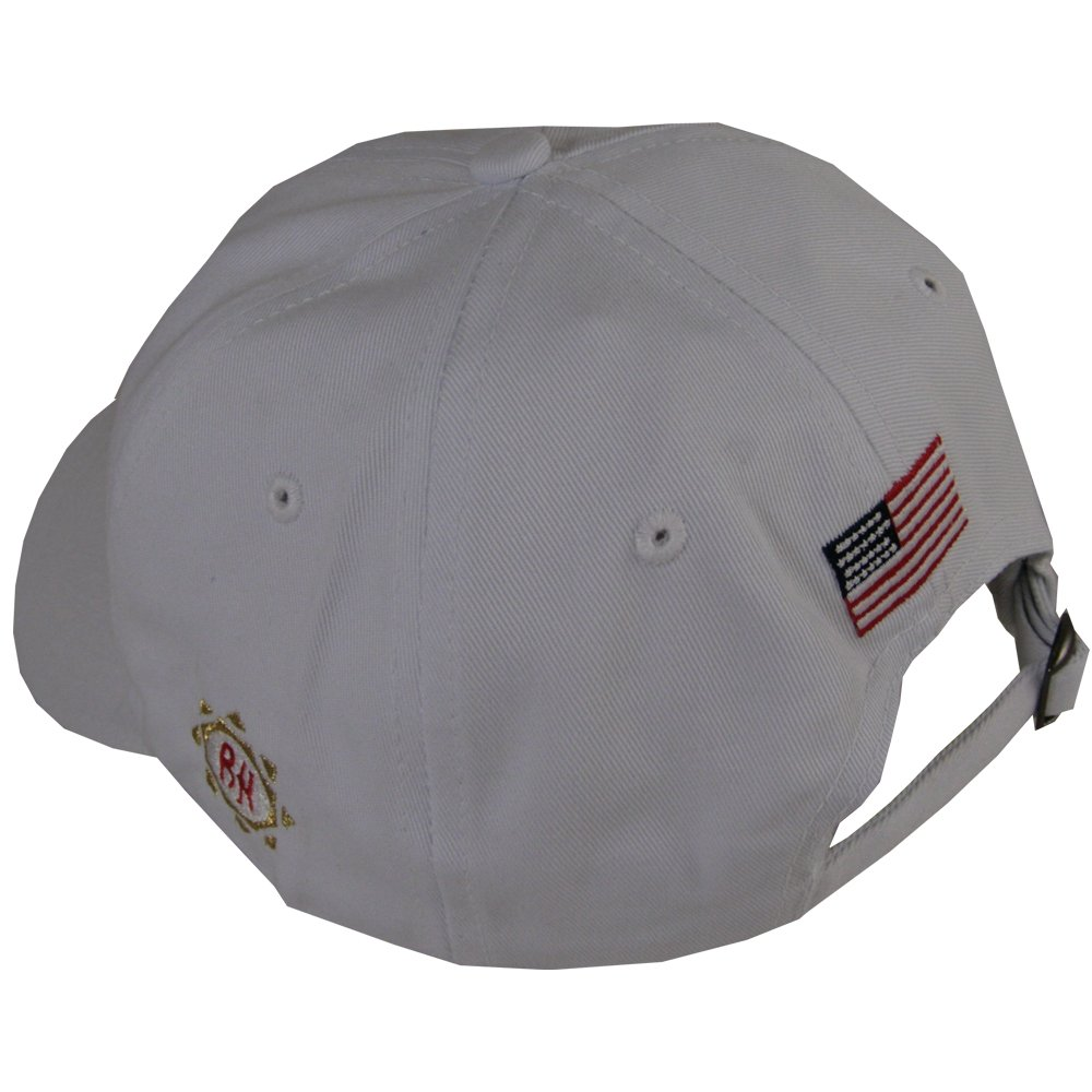 Amazon.com  Ben Hogan Hat (White USA Golf Cap) BH Unstructured 100% cotton  NEW  Sports   Outdoors 068957a5864