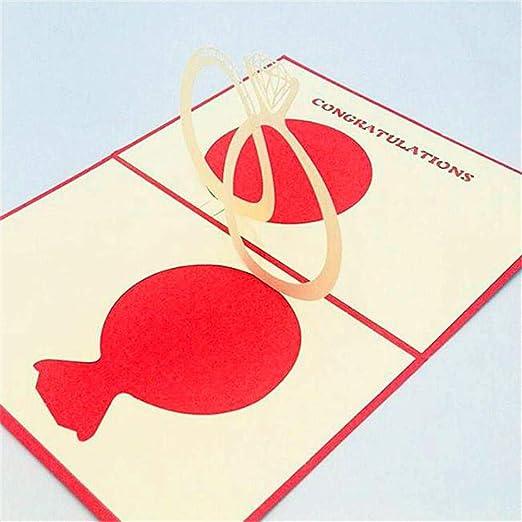 SPECIAL SALE Tarjeta 3D Tarjeta Romance Regalo Hecho a Mano ...