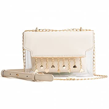 Transparent Jelly Packet Women Trendy Chain Hombro Bags Wild ...