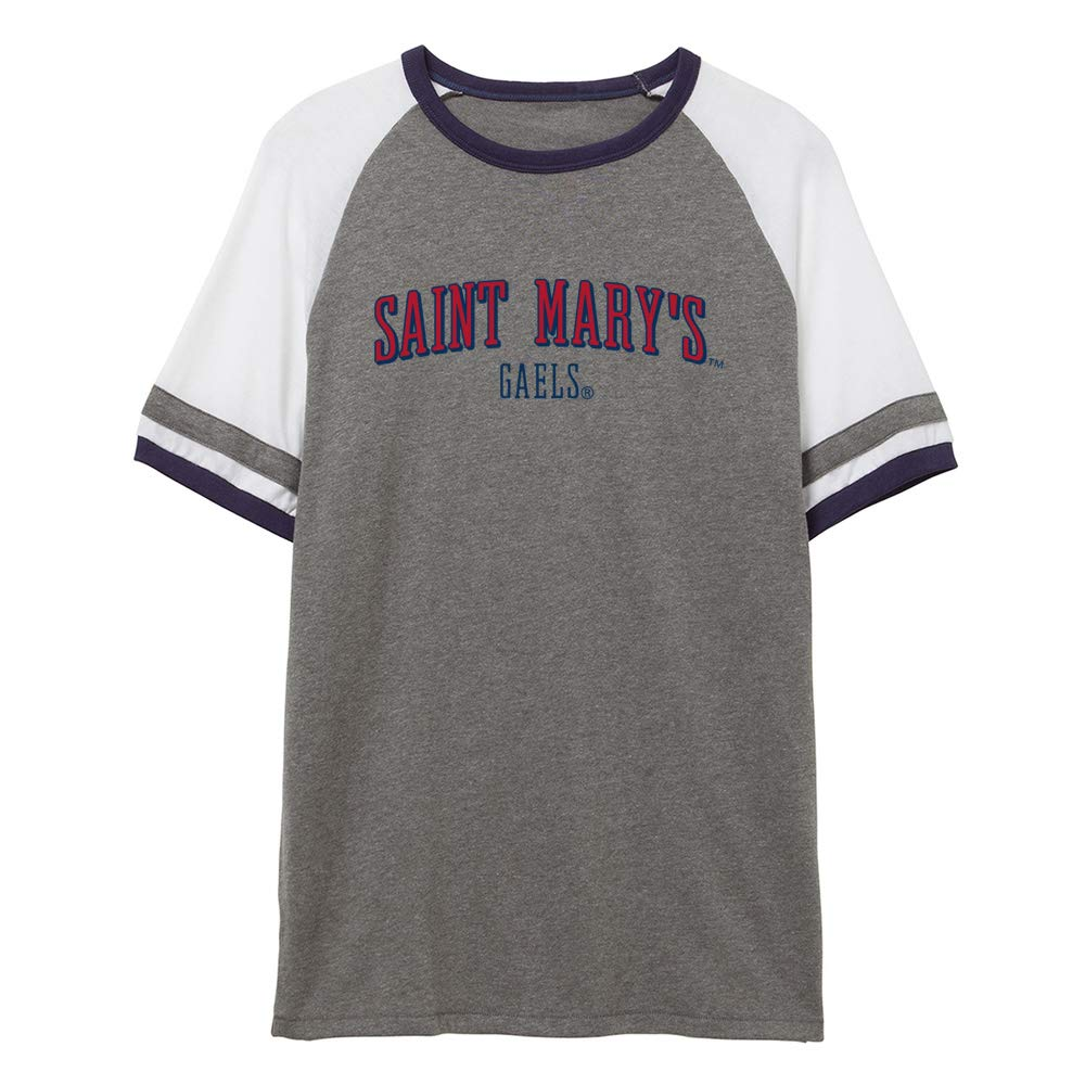 NCAA St Marys Gaels RYLSTM07 Unisex Slapshot Vintage Jersey T-Shirt