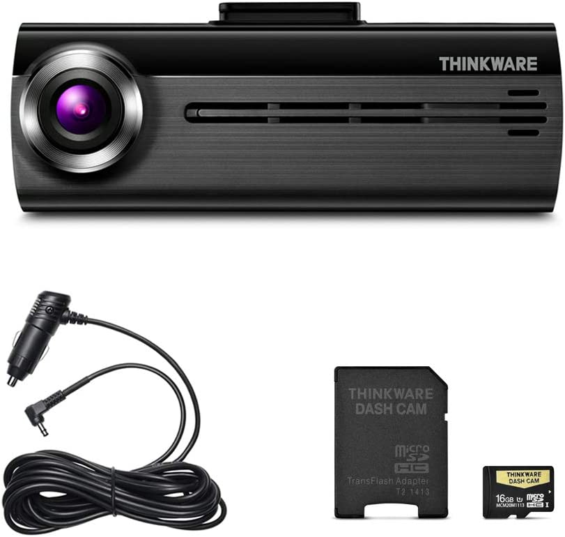 THINKWARE FA200 Dash Cam Bundle with Front /& Rear Cam 16GB MicroSD Card Included Hardwiring Cable Built-in WiFi
