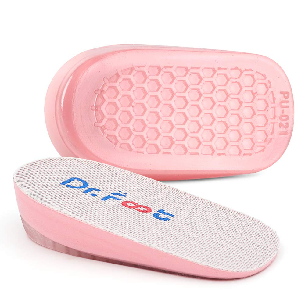 Dr. Foot\'s Height Increase Insoles, Heel Cushion Inserts, Heel Lift Inserts for Leg Length Discrepancies (1\