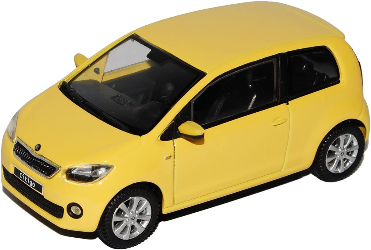Abrex Skoda Citigo 3 T/ürer Sonnenblumen Gelb Ab 2012 143AB021GR 1//43 Modell Auto mit individiuellem Wunschkennzeichen