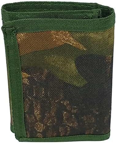 3oaks Camo Tri-fold Velcro Wallet ID Holder
