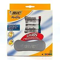 Marcador Quadro Branco Bic - Kit 4 Marcadores + 1 Apagador