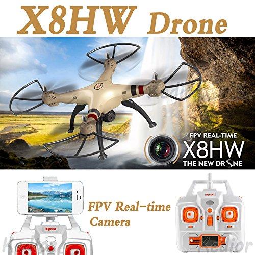 Cewaal X8HW Wifi FPV Drone With 2.0MP HD Camera + SD Card,One Key to Return; Headless Mode,3D Flips,2000mAh Battery Long by Cewaal (Image #6)