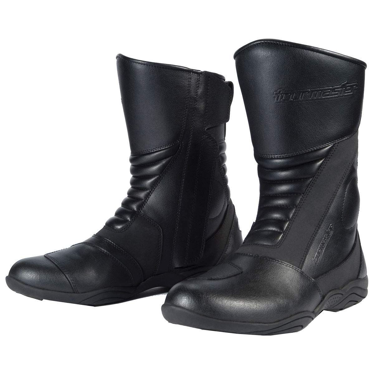 Tour Master Solution WP 2.0 Road Boots - 9 Wide/Black 8601-1205-43-HH-FBA