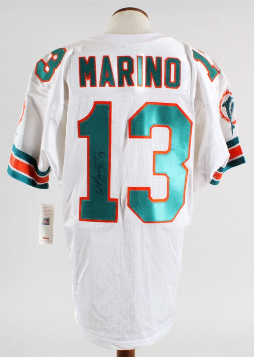 Dan Marino Signed Jersey Dolphins - COA JSA at Amazon's Sports ...