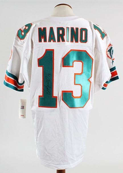 timeless design 996d3 1b88b Dan Marino Signed Jersey Dolphins - COA JSA at Amazon's ...
