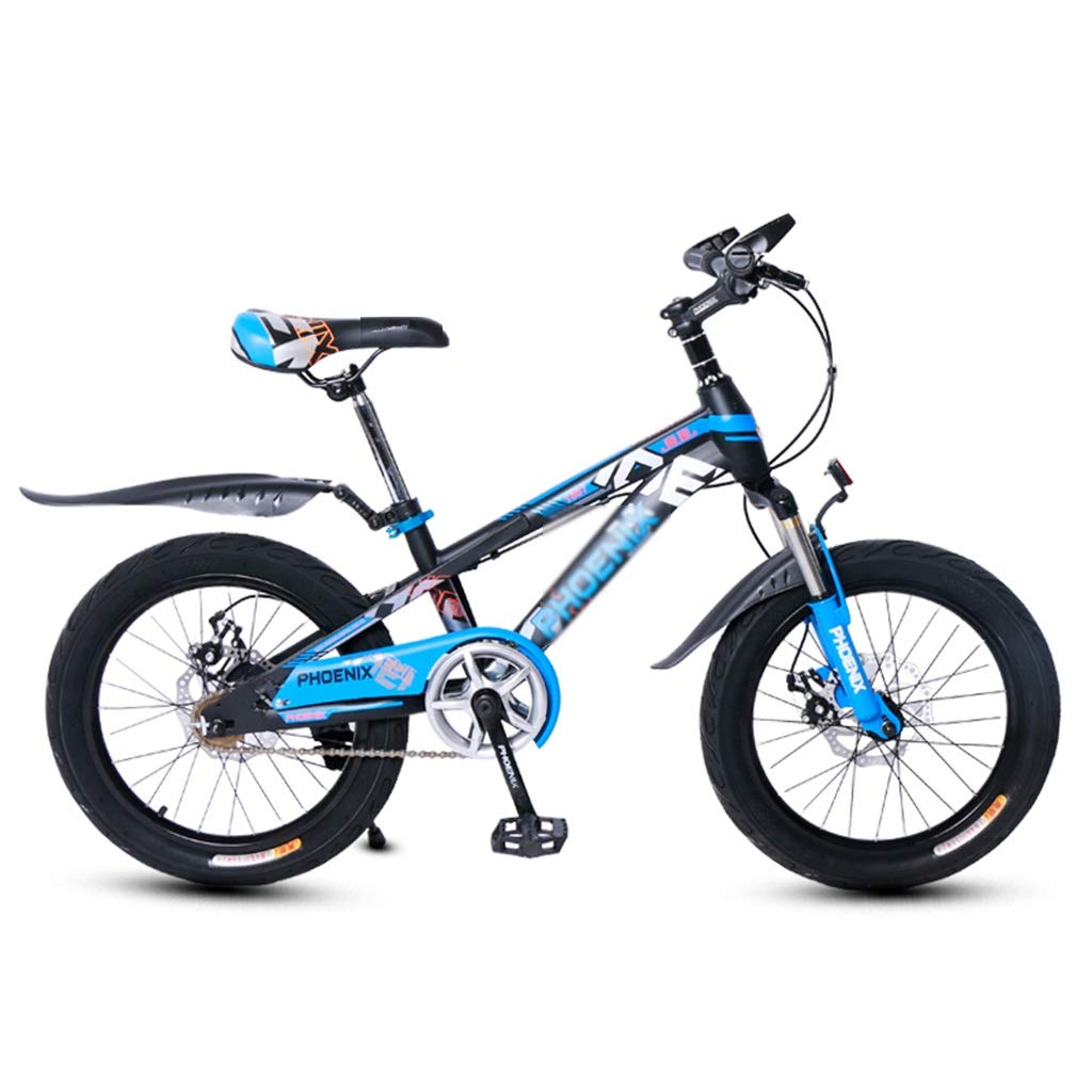 学生自転車 男女自転車 アウトドア旅行自転車 子供用マウンテンバギー 子供用可変速自転車 312歳20インチ子供用車 (Color : Blue, Size : 20inches) 20inches Blue B07RC85G2Y