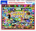 White Mountain Puzzles Us Presidents Collage - 1000Piece Puzzle