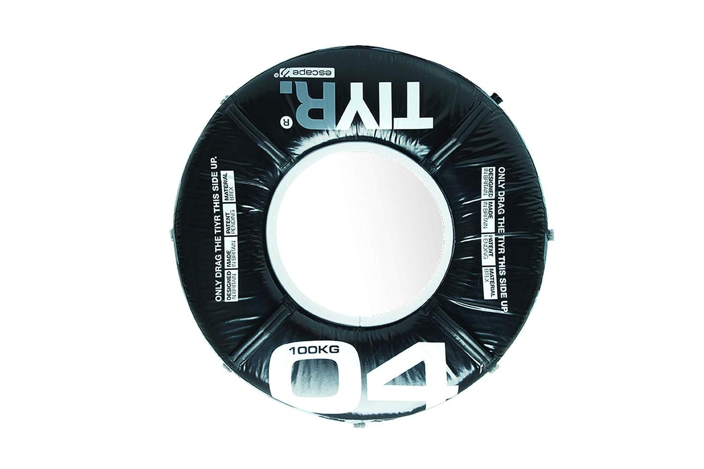 Escape Tiyr, Traktorreifen für Indoor Training, schwarz, 100kg