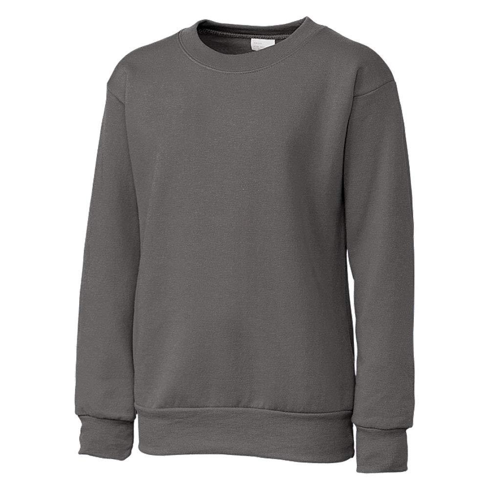 Clique Basic Big Boys Comfortable Fleece Sweatshirt Small Titan