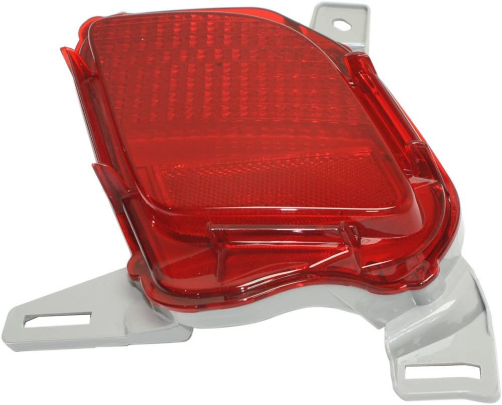 DOT//SAE Compliant Bumper Reflector Rear Light Lamp Right Side for Highlander 14-17