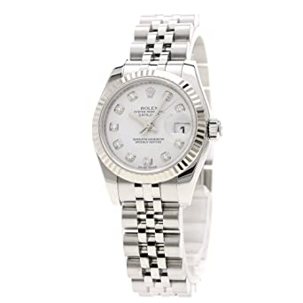 timeless design f51b1 00455 Amazon | [ロレックス]デイトジャスト 179174G 腕時計 ...