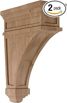 Ekena Millwork CORW09X10X34ACAL-CASE-2 Corbel Factory Primed
