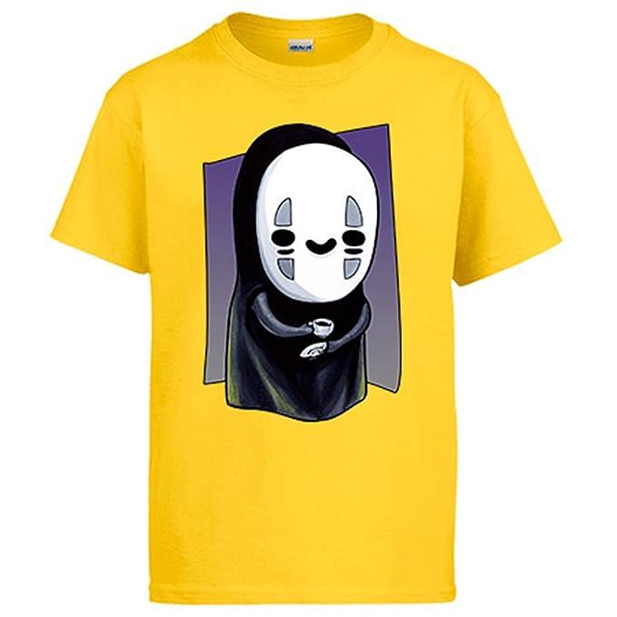 Diver Camisetas Camiseta El Viaje de Chihiro No Face Kawaii: Amazon.es: Ropa y accesorios
