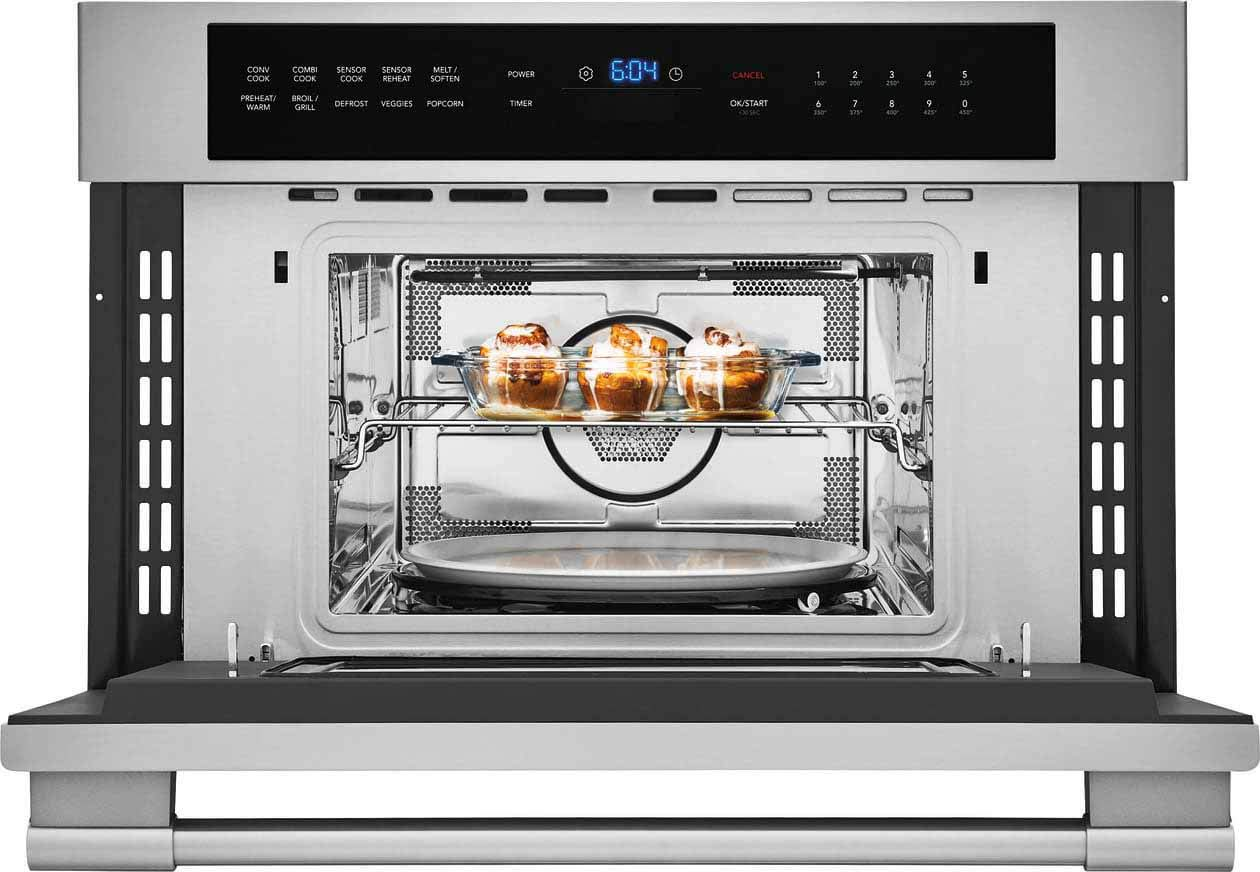 FRIGIDAIRE FPMO3077TF Professional 30 Built-in Convection Microwave Oven with Drop-Down Door, Stainless Steel