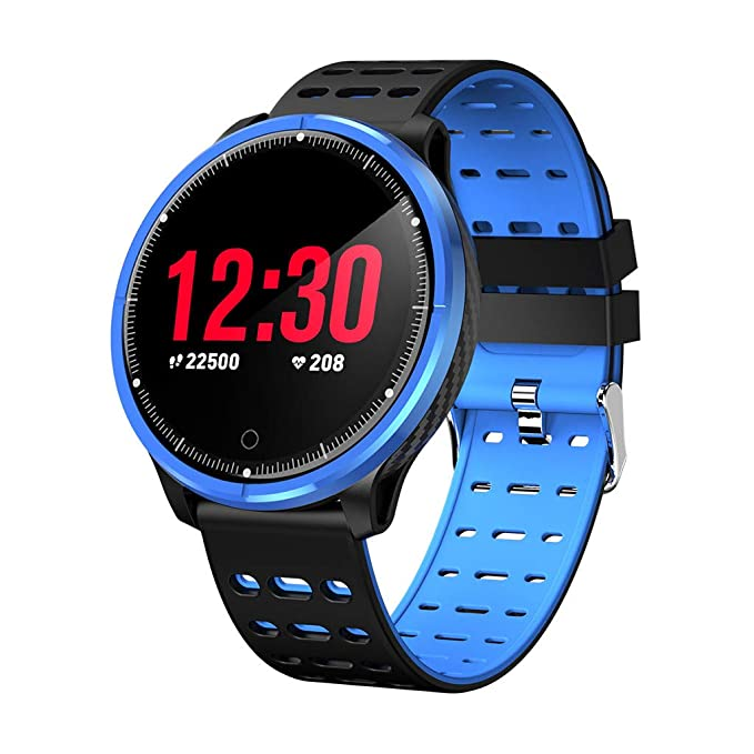 Reloj Pulsera Inteligente con Pulsómetro Pulsera Deportiva y Monitor, Ritmo Cardíaco Monitor Pulsera Actividad Correa de Reloj Fitness Tracker Mymyguoe: ...