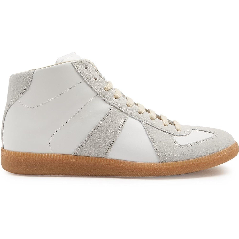 (エムエム6 メゾン マルジェラ) Maison Margiela メンズ シューズ靴 スニーカー high-top leather trainers 並行輸入品 B074SJPQXX