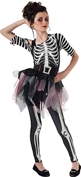 Skelee Ballerina Costume Skeleton Costume with Bracelet for Mom (5-7 years with  sc 1 st  Amazon.com & Amazon.com: Skelee Ballerina Costume Skeleton Costume with Bracelet ...